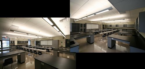 Fisher New Science Classroom
