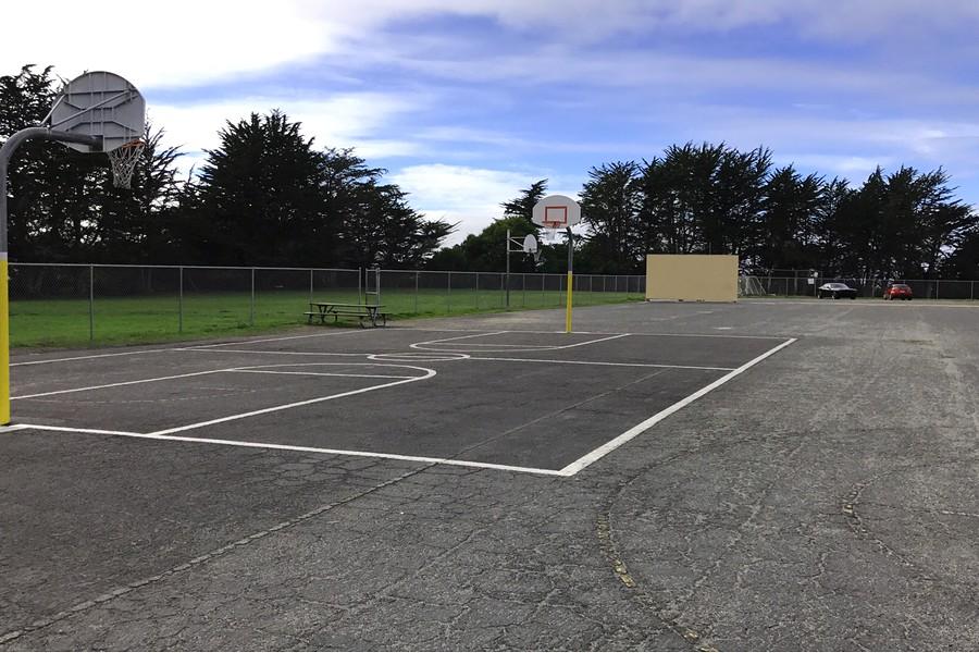 Blacktop / Basketball Court