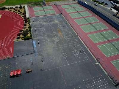 Blacktop/Basketball Courts