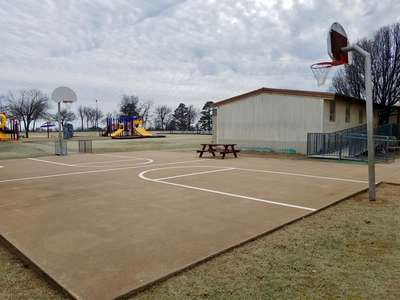 Outdoor Basketball Courts 1