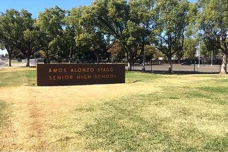 Amos Alonzo Stagg High School