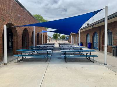 Outdoor Lunch Area