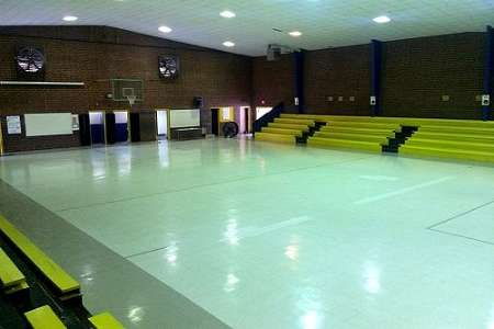 Old Martha Rawls Smith Elementary Gym